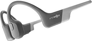 AfterShokz Aeropex Bone Conduction Wireless Bluetooth Headphones, Lunar Grey