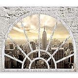 murando - Fototapete Fenster nach New York 350x256 cm -