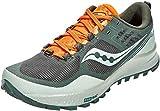 Saucony Men's S20555-25 Xodus 10 Running Shoe, Desert/Pine/Orange - 10.5 M US