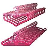 YJAYKL Mignon Rose Mix Cintres Accessoires pour Barbie Vêtements Robe Tenue Jupe Chaussures Poupée Prétendre Jouer Maison