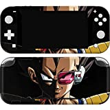 Skinit Decal Gaming Skin Compatible with Nintendo Switch Lite - Officially Licensed Dragon Ball Z Vegeta Portrait Design