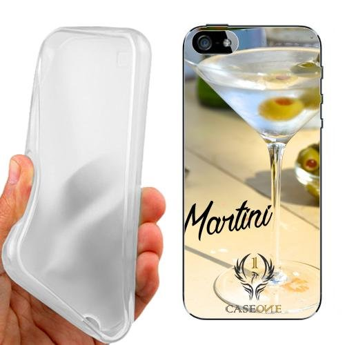 Custodia Cover Case Martini per iPhone 5 5G 5S