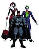 DC Collectibles Hush The Joker, Harley Quinn and Stealth Batman Action Figure Playset, 3-Pack...