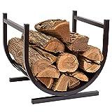 Doeworks Two-Tier Log Storage Rack