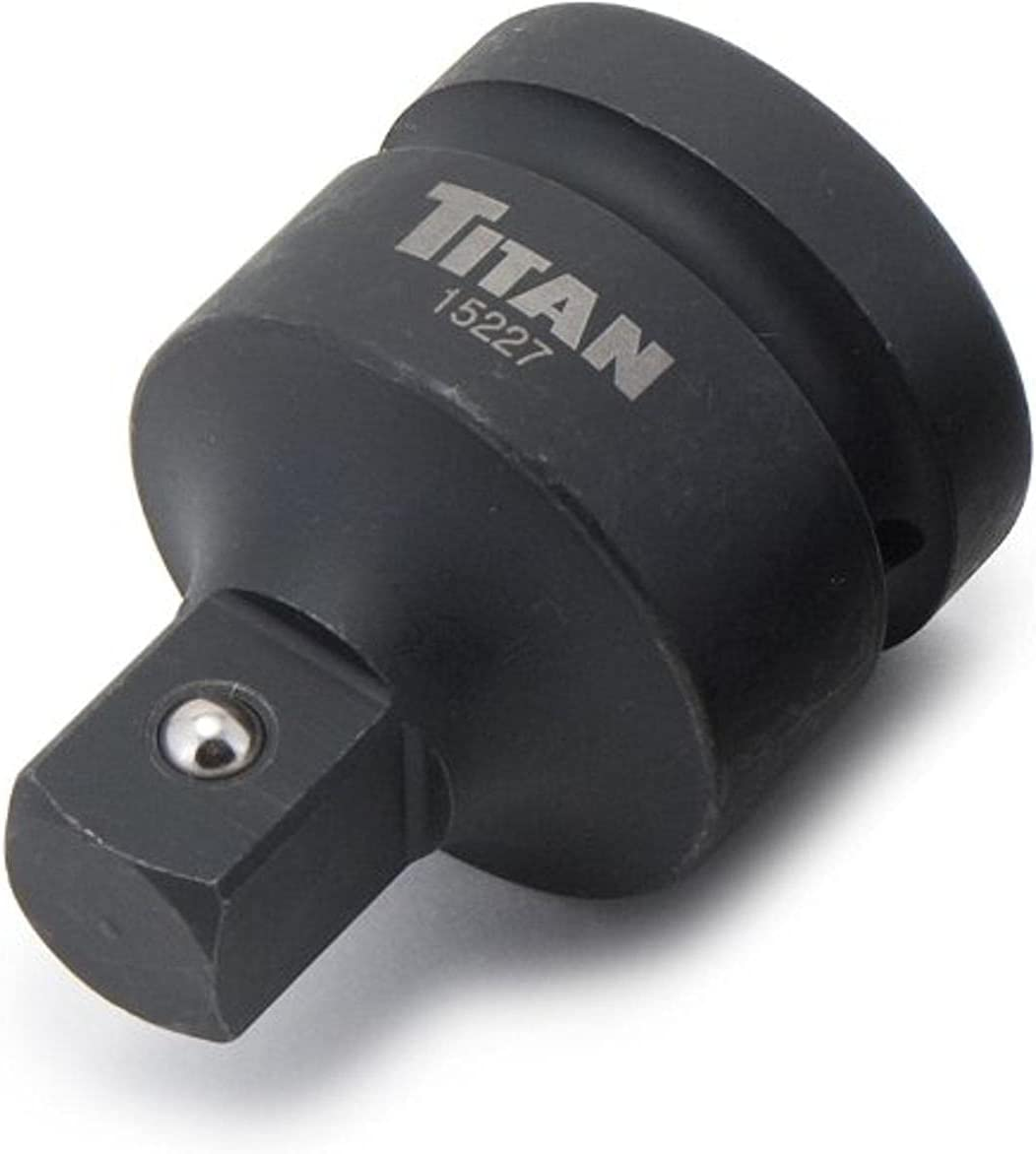 "Titan 15227 1"" Female to 3/4"" Male Impact Socket Adaptor - - Amazon.com"