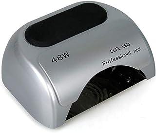 Secadores de uñas Nail Lamp, 48W LED UV Nail Secador de esmaltes a Base de Gel (Color : La Plata)