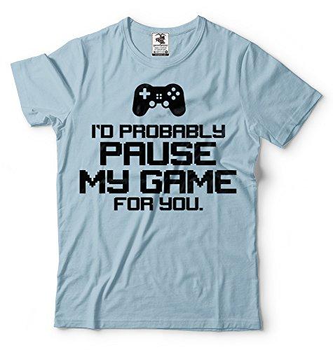 Silk Road Tees Gamer Camiseta de los Hombres de la Consola de...