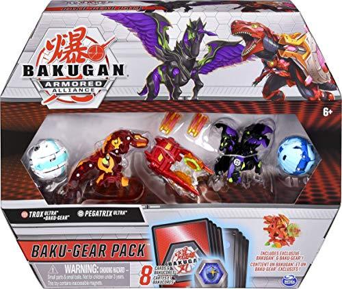 BAKUGAN Armoured Alliance Baku-Gear Pack - Trox and Pegatrix