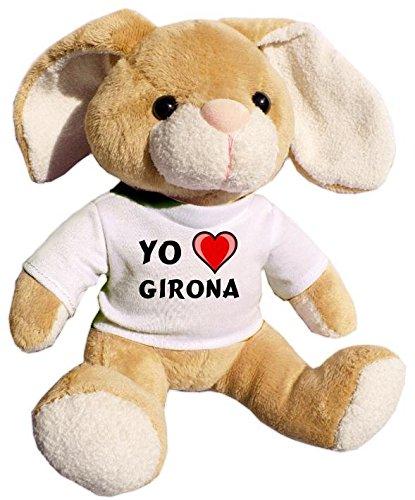Shopzeus Conejito de Peluche (Juguete) con Amo Girona en la