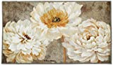 Brumlow MILLS Pearl Grey Floral Area Rug for Kitchen, Entryway, Living Room or Bedroom, 1'8' x 2'10', Rectangle