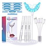 Best Teeth Whitening Pens - HailiCare Teeth Whitening Kit, 16X LED Professional Light Review