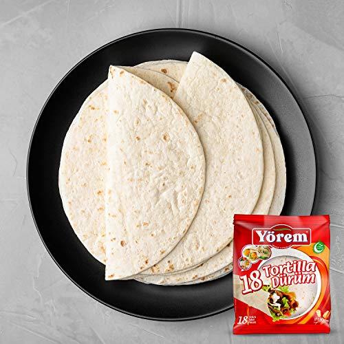 Tortilla 25 cm - Yörem Dürüm Brot (48)
