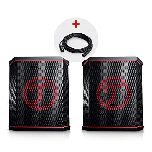 Teufel ROCKSTER AIR Stereo-Set Schwarz Streaming Bluetooth Wireless Musik BT WiFi