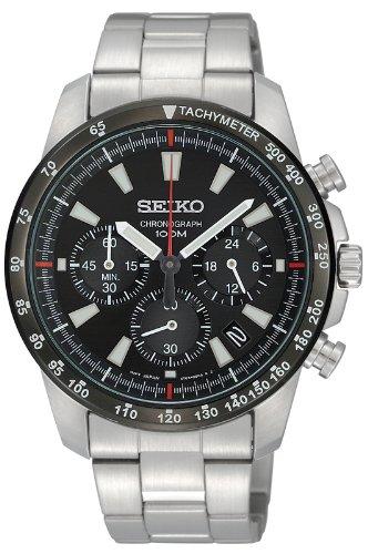SEIKO クロノグラフ 逆輸入 海外モデル SSB031PC