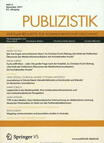 Publizistik [Jahresabo]
