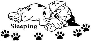 Kauneus ♩ Sleeping Dog ♪ Vinyl Wall Decal Quote Sticker DIY Art Murals Sticker Home Office Classroom Wall Decor