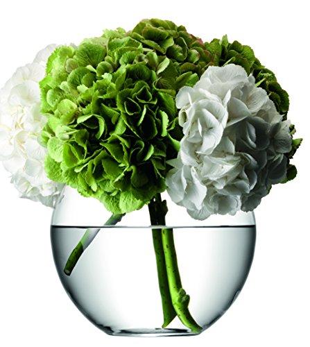 LSA FW05 Vase rond Flower, hauteur 22 cm, transparent