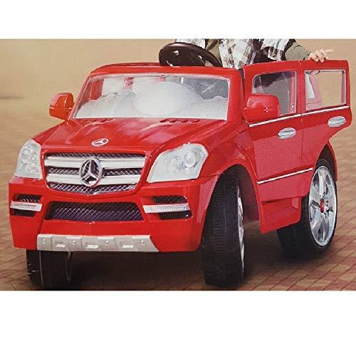 crooza Mercedes-Benz GL450 Rot SUV 12V Kinderauto Kinderfahrzeug Kinder Elektroauto