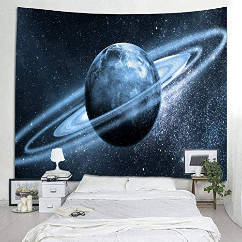 Tapiz colgante de pared Colcha de cama Toalla de playa Mantel de yoga Estera de yoga Hogar Deco Universo Agujero negro Rectángulo 150x200cm