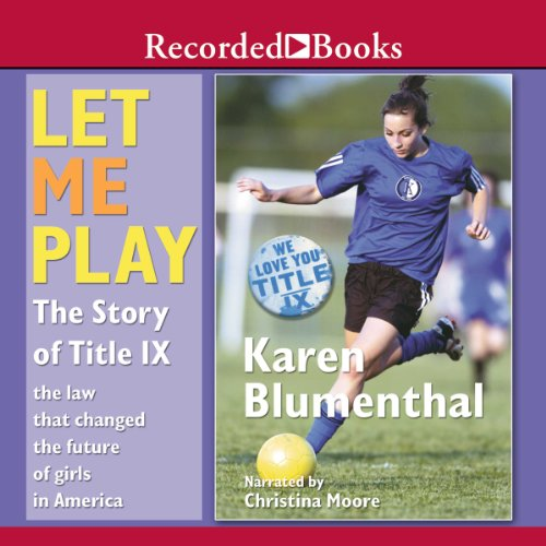 Let Me Play audiobook cover art