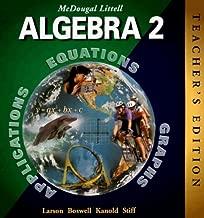 Best mcdougal littell algebra 2 teacher's edition Reviews