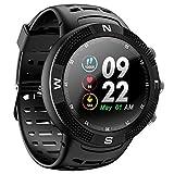 DTNO.I NO.1 F18 Smartwatch Deportivo Bluetooth 4.2 IP68 Impe
