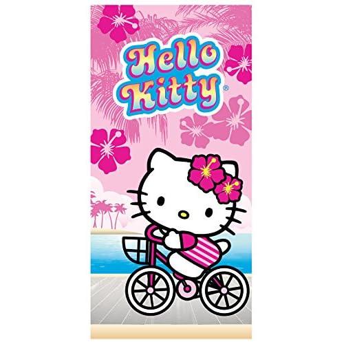 7c5831bbe Hello Kitty 'On The Boardwalk' Beach Towel 100% Cotton
