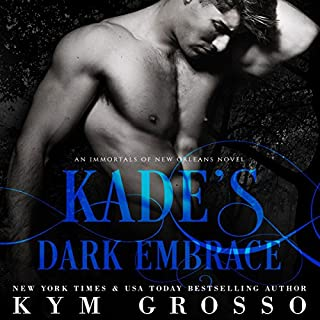 Kade's Dark Embrace audiobook cover art