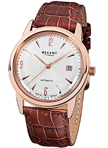 Reloj de pulsera rosa automáticolink Regent GM1419