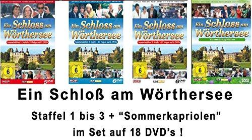 Ein Schloß am Wörthersee - die komplette Serie + Sommerkapriolen im Set - Deutsche Originalware [18 DVDs]