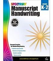 Spectrum Manuscript Handwriting Grades K-2