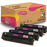 Excellent Print 203X CF540X CF541X CF542X CF543X Compatible Cartucho de Toner para HP Colour Laserjet Pro M254dw M254nw MFP M280nw MFP M281fdw