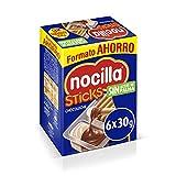 Sticks Nocilla Chocoleche-Pack de 6 raciones de 30g