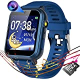Kids Smart Watch for Boys Girls,Child Smartwatches with 16 Games Music Player Camera Alarm Clock Calculator 12/24 hr Touch Screen for Kids Age 4-12 Birthday Educational Learning Toys