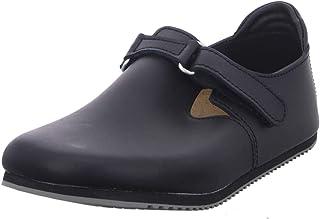 Linz Black Leather Sandals Regular Width