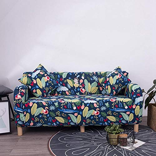 FANG Sofa SlipCover voor Meubilair Zacht Duurzaam, Stretch sofa cover, enkele dubbele triple triple quad cover