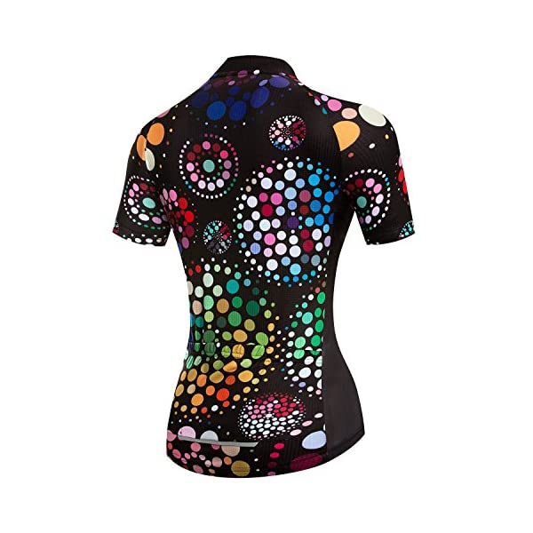 Cycling Jerseys weimostar Women's Cycling Jersey Breathable Shirt Mountain Clothing Bike Top MTB Road Jersey Short Sleeve