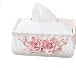 Deksel van tissuedoos Creatieve Tissue Box Huishouden woonkamer slaapkamer koffietafel restaurant keramische tissue box Ti...