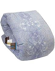 昭和西川 品質信頼 あったかふわふわ羽毛布団 日本製 シングル セミダブル ダブル