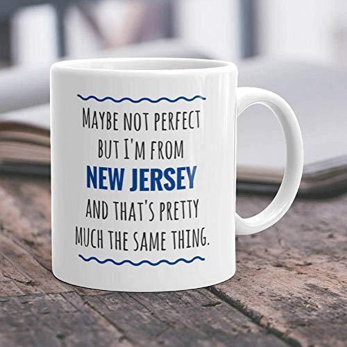 New Jersey Becher New Jersey Geschenk Ich Liebe New Jersey State NJ Kaffeetasse NJ Geschenkidee New Jersey Stolz New Jersey Mutter New Jersey Vater