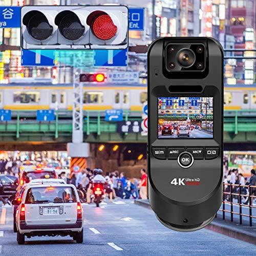 YAZACO令和最新版3カメラ搭載ドライブレコーダー前後カメラ4KドラレコGPS内蔵800万画素前後同時録画車内外同時録画前後カメラ2.0インチ1080PフルHD暗視機能動体検知駐車監視衝撃録画赤外線暗視機能18ヶ月保証期間