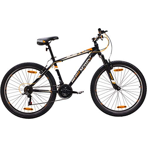 Hero Sprint Pro Sweed 26T 21-Speed Bicycle (Black/Orange)