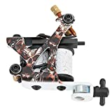 High Temperature Resistant Skull Pattern Tattoo Tool, Strong Power Tattoo Machine, for Liner Shader Body Art