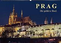 Prag - die goldene Stadt (Wandkalender 2022 DIN A2 quer): Drehscheibe der Kulturen (Monatskalender, 14 Seiten )