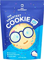 Healthy Keto Cookies, Low Carb Smart Snacks with Key Brain Boosting Nutrients for Kids & Adults – High Protein Gluten...