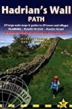 Hadrian's Wall Path: 59 Large-Scale Walking Maps & Guides to 29 Towns & Villages - Planning, Places to Stay, Places to Eat - Wallsend (Newcastle) to Bowness-on-Solway (British Walking Guides)