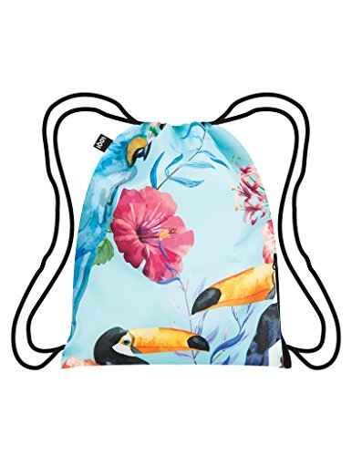 LOQI WILD Birds Backpack - Rucksack