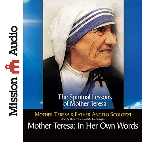 Mother Teresa: In Her Own Words audiobook cover art