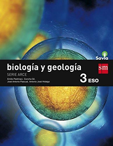 Biología y geología, Arce. 3 ESO. Savia - 9788467576382