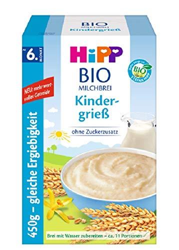 HiPP Hipp bio melkbree zonder suikeradditief voorraadverpakking 4er Pack (4 x 450 g)